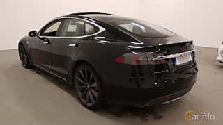 Bak/Sida av Tesla Model S P85D 85 kWh AWD Single Speed, 511ps, 2015