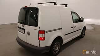 Back/Side of Volkswagen Caddy Panel Van 2.0 SDI Manual, 69ps, 2004