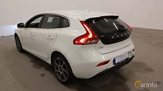 Back/Side of Volvo V40 D2 Geartronic, 120ps, 2016