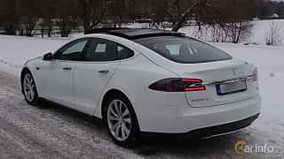 Bak/Sida av Tesla Model S 85D 85 kWh AWD Single Speed, 423ps, 2016