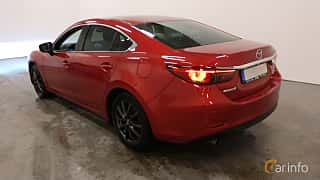 Back/Side of Mazda 6 Sedan 2.5 SKYACTIV-G Automatic, 192ps, 2017