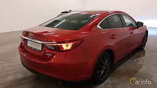 Bak/Sida av Mazda 6 Sedan 2.5 SKYACTIV-G Automatic, 192ps, 2017