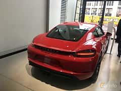 Back/Side of Porsche 718 Cayman GTS 2.5 H4 PDK, 365ps, 2019