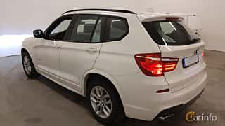 Bak/Sida av BMW X3 xDrive30d  Steptronic, 258ps, 2013