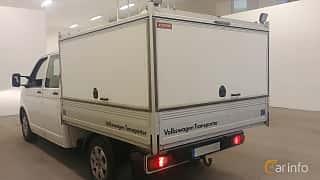 Bak/Sida av Volkswagen Transporter Chassi 2.0 TDI 4Motion Manual, 140ps, 2015