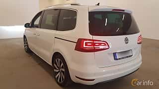 Bak/Sida av Volkswagen Sharan 2.0 TDI DSG Sequential, 150ps, 2016