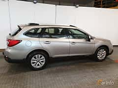 Back/Side of Subaru Outback 2.5 4WD Lineartronic, 175ps, 2016
