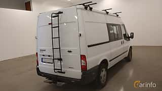 Back/Side of Ford Transit Crew Cab 2.2 TDCi Manual, 125ps, 2013