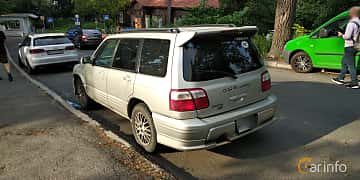 Back/Side of Subaru Forester STI 2.0 4WD Manual, 250ps, 2001