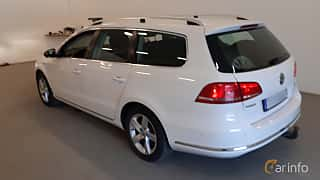 Back/Side of Volkswagen Passat Variant 1.4 TSI EcoFuel Manual, 150ps, 2013