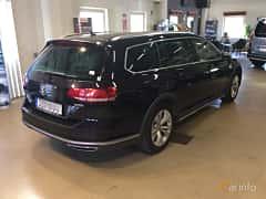 Back/Side of Volkswagen Passat Alltrack 2.0 TDI SCR BlueMotion 4Motion DSG Sequential, 190ps, 2018