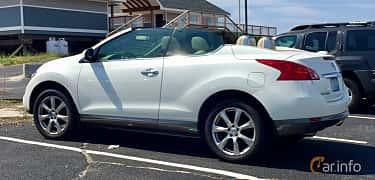 Bak/Sida av Nissan Murano CrossCabriolet 3.5 V6 iAWD XTRONIC-CVT, 269ps, 2011
