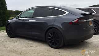 Bak/Sida av Tesla Model X 100D 100 kWh AWD Single Speed, 423ps, 2016