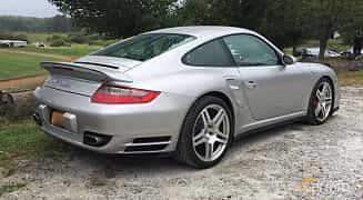 Bak/Sida av Porsche 911 Turbo 3.6 H6 4 480ps, 2007