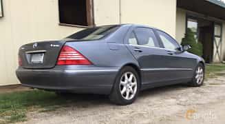 Bak/Sida av Mercedes-Benz S 500  7G-Tronic, 306ps, 2005