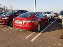 Bak/Sida av Tesla Model S 85D 85 kWh AWD Single Speed, 423ps, 2016