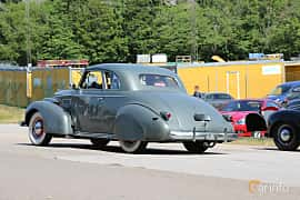 Back/Side of Cadillac LaSalle Coupé 5.3 Manual, 125ps, 1939 at A-bombers - Old Style Weekend Backamo 2019