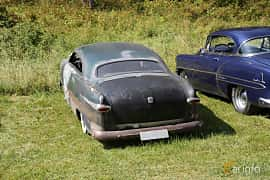 Back/Side of Ford Custom Coupé 3.9 V8 102ps, 1949 at A-bombers - Old Style Weekend Backamo 2019
