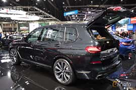 Back/Side of BMW X7 M50d  Steptronic, 400ps, 2019 at Bangkok Motor Show 2019