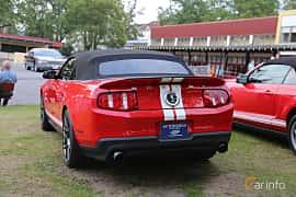 Back/Side of Ford Shelby GT500 Convertible 5.4 V8 Manual, 557ps, 2011 at Bil & MC-träffar i Huskvarna Folkets Park 2019 Amerikanska fordon