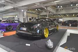 Back/Side of Nissan 350Z Roadster 3.5 V6  280ps, 2005 at Bilsport Performance & Custom Motor Show 2019