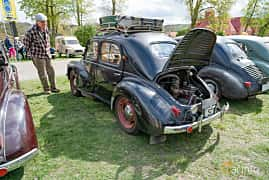 Back/Side of Renault 4CV 0.7 Manual, 18ps, 1951 at Fest För Franska Fordon  på Taxinge slott 2019