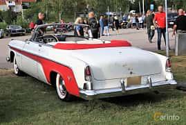 Back/Side of DeSoto Fireflite Convertible 5.4 V8 Automatic, 258ps, 1956 at Kungälvs Kulturhistoriska Fordonsvänner  2019 Torsdag vecka 31