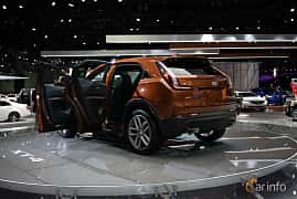 Back/Side of Cadillac XT4 2.0 Turbo AWD Automatic, 241ps, 2019 at LA Motor Show 2018