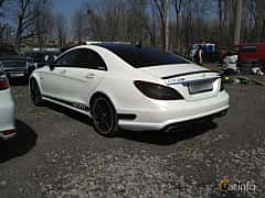 Back/Side of Mercedes-Benz CLS 63 AMG S 4MATIC 5.5 V8 4MATIC , 585ps, 2013 at Ltava Time Attack 1st Stage