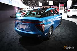 Back/Side of Toyota Mirai FuelCell Single Speed, 154ps, 2017 at North American International Auto Show 2018