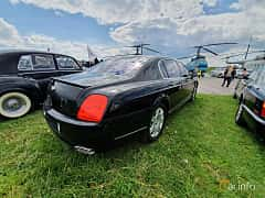 Back/Side of Bentley Continental Flying Spur 6.0 W12 560ps, 2007 at Old Car Land no.1 2019