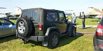 Back/Side of Jeep Wrangler 3.8 V6 4WD 199ps, 2007 at Old Car Land no.1 2019