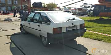 Back/Side of Citroën BX 1989 at Old Car Land no.1 2019