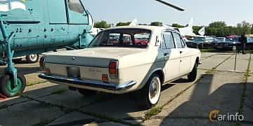 Back/Side of GAZ 24 Volga 2.4 Manual, 95ps, 1970 at Old Car Land no.1 2019
