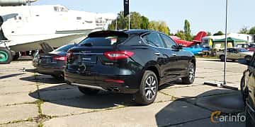 Back/Side of Maserati Levante  Automatic, 350ps, 2019 at Old Car Land no.1 2019