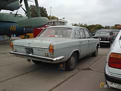 Back/Side of GAZ GAZ-24 2.4 Manual, 95ps, 1972 at Old Car Land no.2 2017