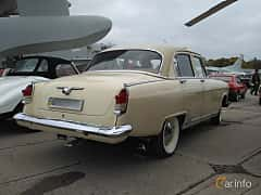 Back/Side of GAZ GAZ M-21 Volga 2.4 Manual, 76ps, 1962 at Old Car Land no.2 2017