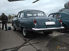 Back/Side of GAZ GAZ M-21 Volga 2.4 Manual, 76ps, 1964 at Old Car Land no.2 2017