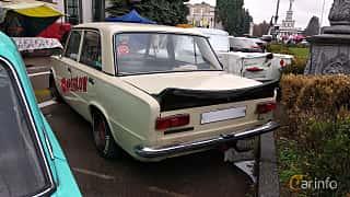 Back/Side of VAZ 21011 1.3 Manual, 69ps, 1974 at Old Car Land no.2 2018