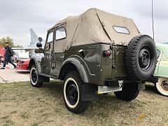 Back/Side of GAZ 69 4-door 2.1 4x4 Manual, 55ps, 1951 at Old Car Land no.2 2019