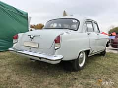 Back/Side of GAZ 21 1962 at Old Car Land no.2 2019