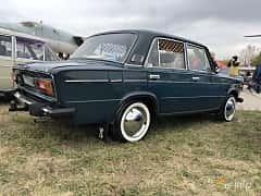 Back/Side of VAZ 21061 1.5 Manual, 75ps, 1977 at Old Car Land no.2 2019