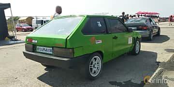 Back/Side of Lada Samara 3-door 1996 at Proudrs Drag racing Poltava 2019