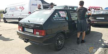 Back/Side of Lada Samara 3-door 1.6 Manual, 90ps, 2008 at Proudrs Drag racing Poltava 2019