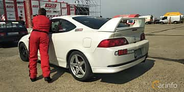 Back/Side of Acura RSX Type-S 2.0 Manual, 210ps, 2005 at Proudrs Drag racing Poltava 2019