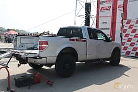 Back/Side of Ford F-150 SuperCab 5.0 V8 Ti-VCT FFV Automatic, 364ps, 2014 at Proudrs Drag racing Poltava 2019