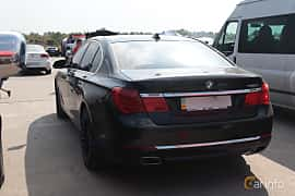 Back/Side of BMW 750i  Steptronic, 408ps, 2009 at Proudrs Drag racing Poltava 2019