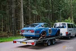 Back/Side of Datsun 280Z 2.8 173ps, 1975 at Svenskt sportvagnsmeeting 2019