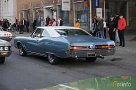 Back/Side of Buick Wildcat Custom Sport Coupé 7.0 V8 Automatic, 365ps, 1967 at Umeå Wheels Nations Norr 2019