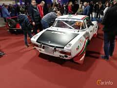 Back/Side of Fiat 124 Sport Spider 1.8 Manual, 128ps, 1973 at Warsawa Motorshow 2018